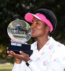 Nobuhle Dlamini - 2019 Joburg Ladies Open winner