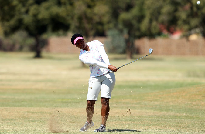 Dlamini in Action on Day 2
