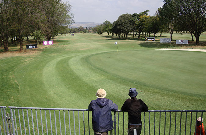 18th hole at the Soweto Country Club