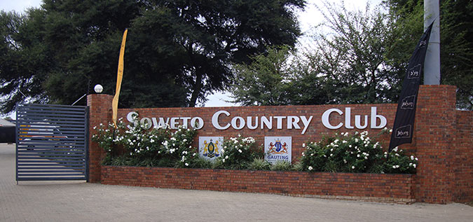 Soweto Country Club Entrance