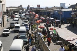 Baragwanath Taxi Rank in Soweto