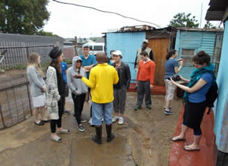 Kosher Tours in Kliptown at The Youth Centre